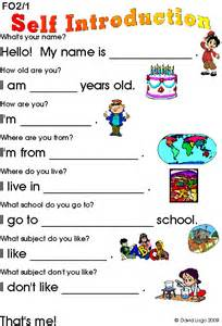 worksheets on myself google search projects to try