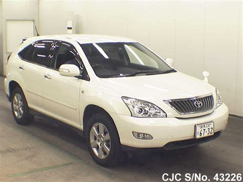toyota harrier 2012 2012 toyota harrier pearl for sale stock no 43226