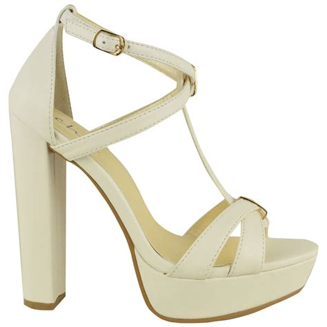 Sandal Wedges Fladeo M 3 new womens wedge high heel sandals platform strappy