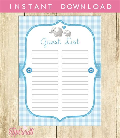 Baby Shower Sign In Sheet Printable by 1000 Ideas About Sign In Sheet On Open House