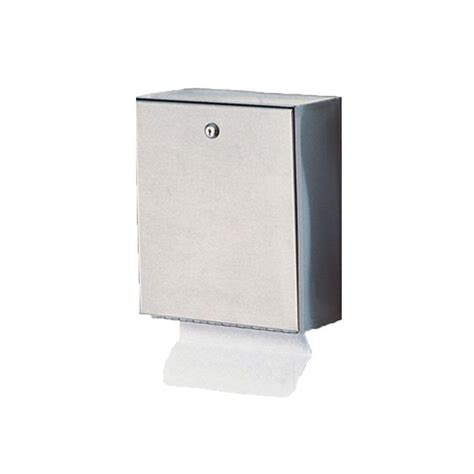 Wall Dispenser Ss stainless solutions wall mounted folded paper dispenser in stainless steel ftp the home depot