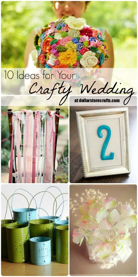 dollar store craft projects 10 ideas for your crafty wedding 187 dollar store crafts