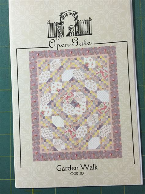 Open Gate Quilts by Garden Walk Quilt Pattern Frim Open Gate Quilts