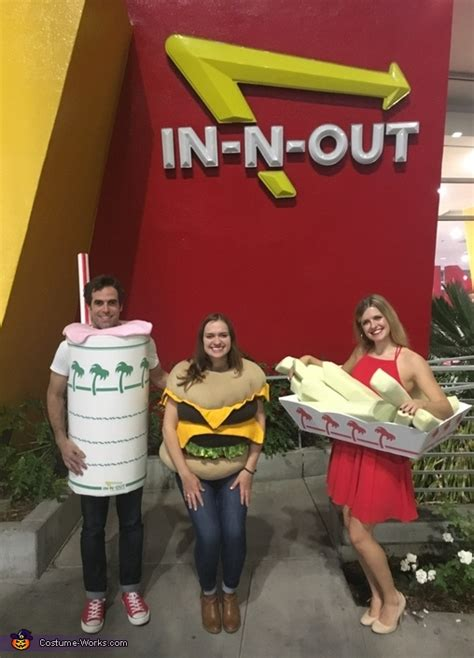 burger number  group costume