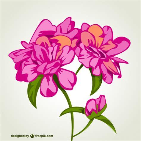 imagenes de flores vector vector tarjeta con flores rosas descargar vectores gratis