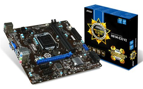 Mb Msi H81m E35 V2 Socet 1150 msi h81 e33 v2 lga 1150 motherboard h81m e33 v2 mwave au