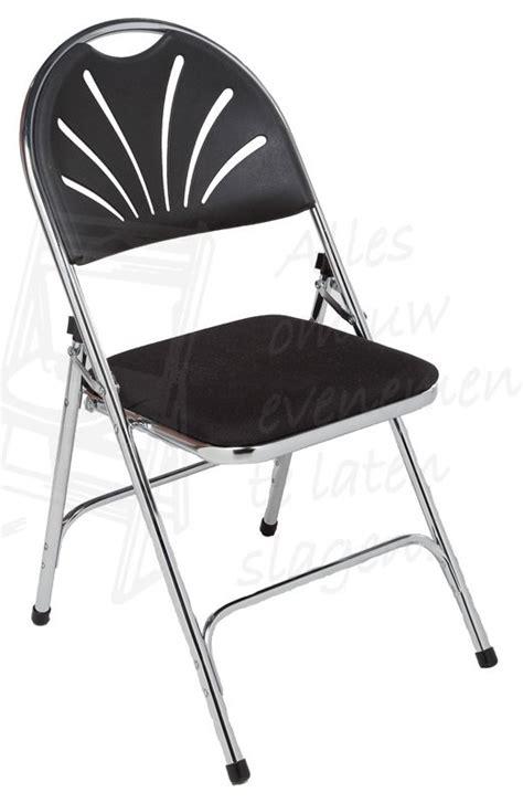 stoelen huren aalsmeer klapstoel luxe zwart gestoffeerd stoelen huren bij
