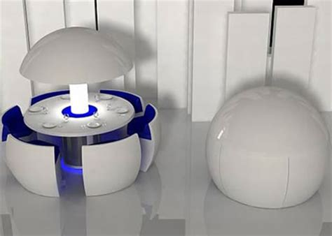 modular dining table and chairs egg shaped dining table futuristic set
