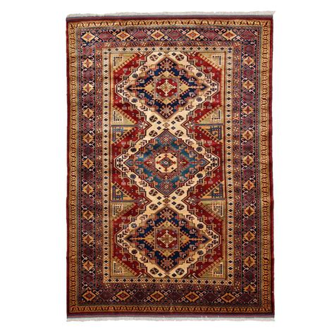 4 x 7 area rug darya rugs shirvan beige 4 ft 10 in x 7 ft 2 in indoor area rug m1721 308 the home depot