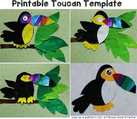rainforest animal templates 25 best ideas about forest crafts on forest