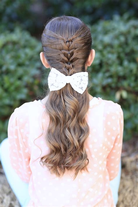 cute girl hairstyles mermaid braid mermaid heart braid cute valentine s day hairstyles