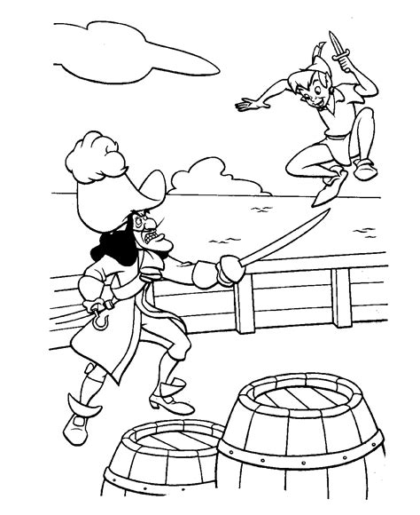 Free Printable Peter Pan Coloring Pages For Kids Pan Coloring Page