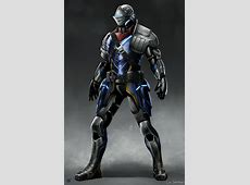 ArtStation - Sci-Fi Souls - Elite Knight Armor, Cal Santiago Future Battle Helmet