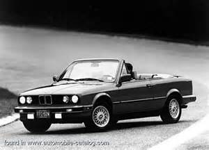 1987 bmw 325i convertible since mid year 1986 for