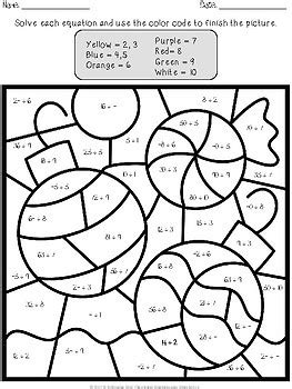 color by number division color by number multiplication and division by