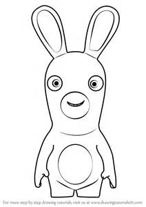 learn draw rabbid rabbids invasion rabbids invasion step step drawing tutorials
