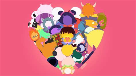 cute undertale wallpaper undertale pure heart by mckodem on deviantart