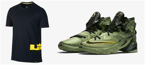 T Shirt Lebron Buy Side nike lebron 13 all t shirt sneakerfits