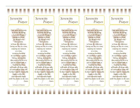 printable prayer bookmarks 6 best images of prayer printable bookmarks serenity