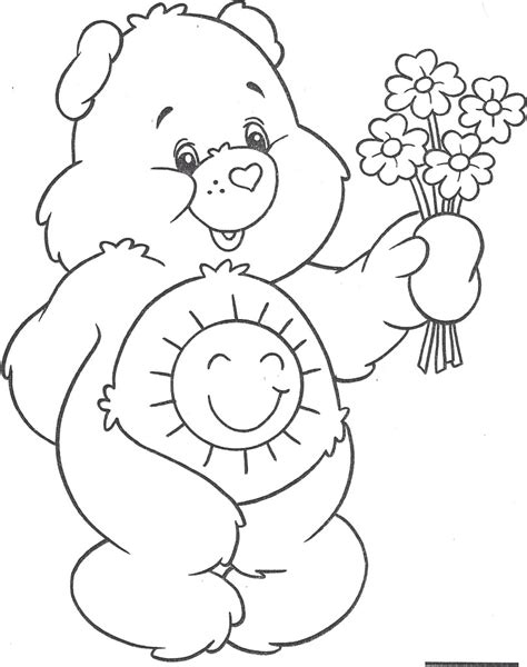 18 Coloring Pages Care Bears Care Bears Colour Sweet Coloring Pages 808