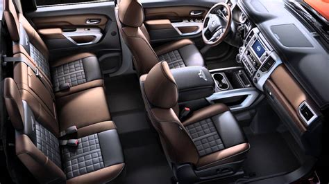 2016 Nissan Titan Diesel Interior Storage Youtube