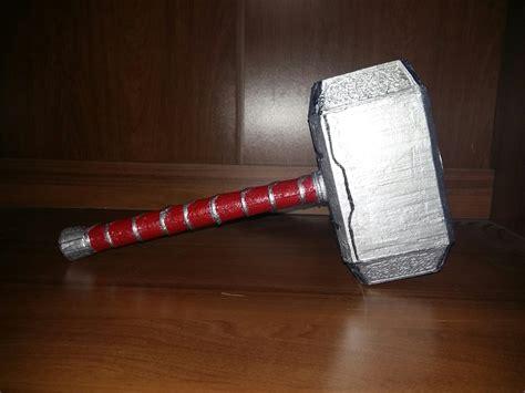 3d printable mjolnir thor s hammer by reg taylor