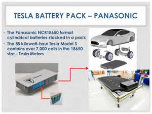 Tesla Electric Car Battery Specs Pansonic Battery Storage Systems