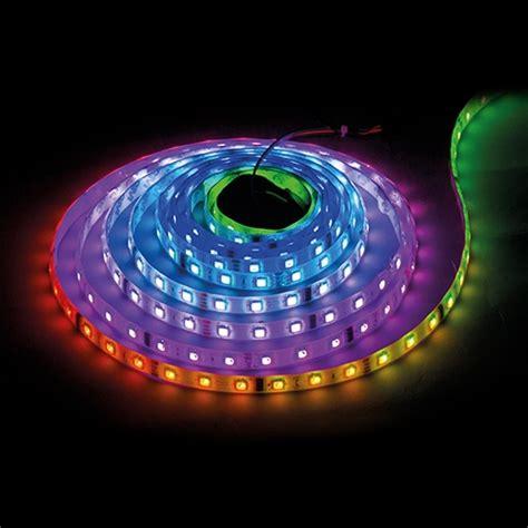Lu Led Lestrip Roll 5 Meter Warna Warni E 2385 digital led smd5050 14 4w m 5v dc 60 leds m ic ws2812b 60 pixels m non waterproof