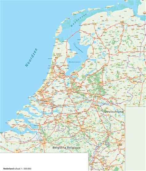 Or Nederland Image Gallery Kaart Nederland