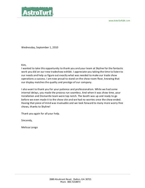Letter Of Recommendation Vendor client letters of recommendation