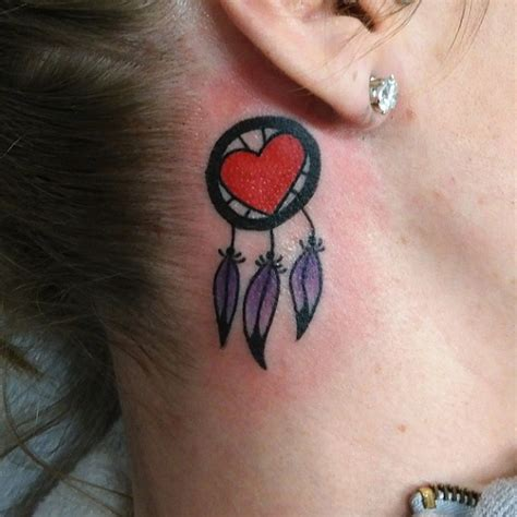 tattoo pen in ear 35 unusual behind the ear tattoos