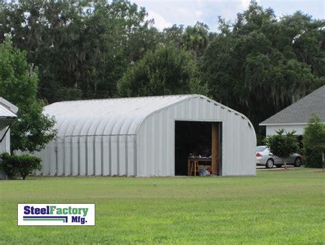 Metal Garage Building Kits p series arch building steel buildings by steel factory