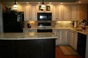Kitchen With White Cabinets And Black Appliances White Kitchen Cabinets Black Appliances White Cabinets W Black Appliances Kitchen Rev