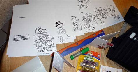 Outline Marker Pentel by Kid Sketches Using Pentel Outline Markers For Decorating Colored Greeting Cards