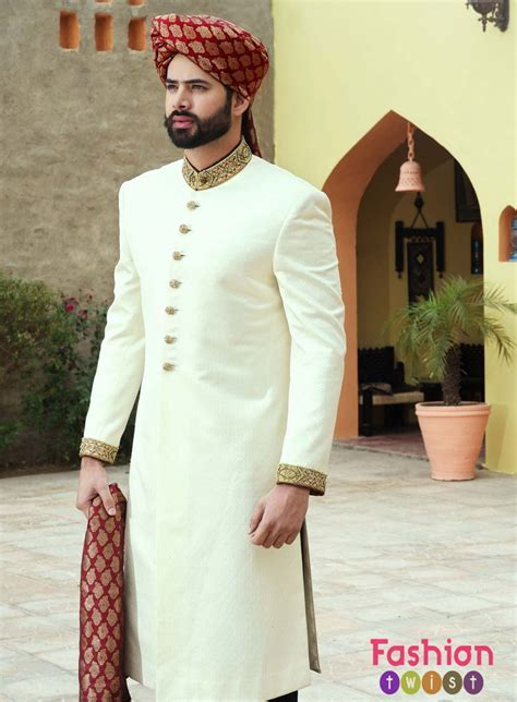 Latest Sherwani Designs For Men Wedding   Tradition/knit