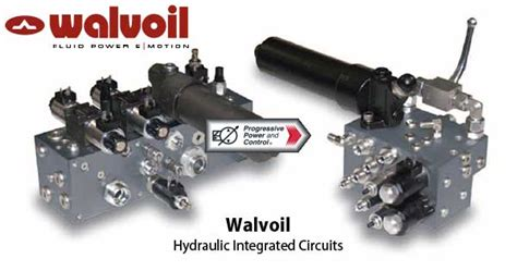 integrated hydraulic circuits walvoil hydraulic integrated circuits hics for use in mobile hydraulic systems and industrial