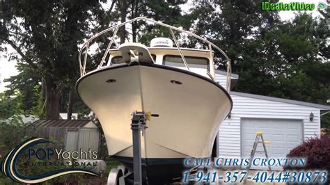 maycraft boats youtube sold used 2005 maycraft 27 pilothouse in chesapeake