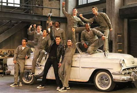 Greased Lighting by Grease Live Greased Lightning Performance Photos