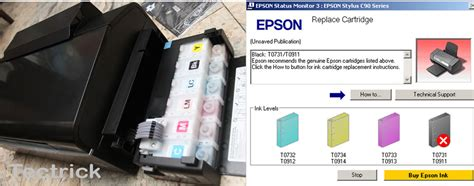 reset epson printer ink levels free reset ink level epson printer using wic utility