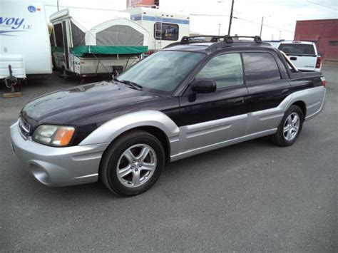 2003 subaru baja 4dr 2 9l twin turbo awd suv details spokane valley wa 99212