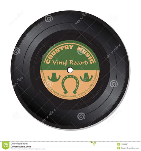 county records country vinyl record royalty free stock photography