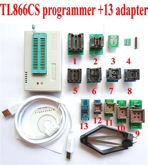 Eeprom Flash Tl 866cs 866 Tl866 Universal Bios Chip Eprom Eeprom tl866cs programmer 13 universal adapters plcc extractor
