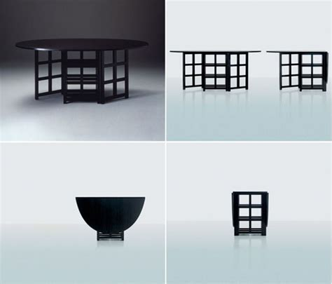 folding expanding tables small space solutions folding expanding tables charles rennie mackintosh
