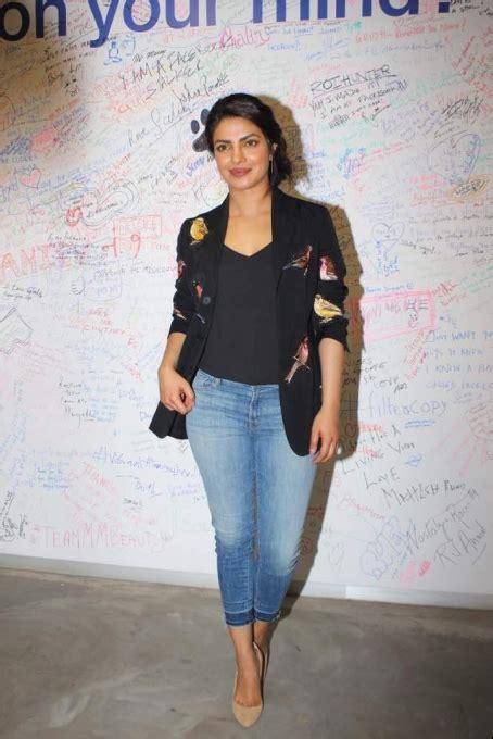 priyanka chopra in facebook priyanka chopra at facebook office in mumbai
