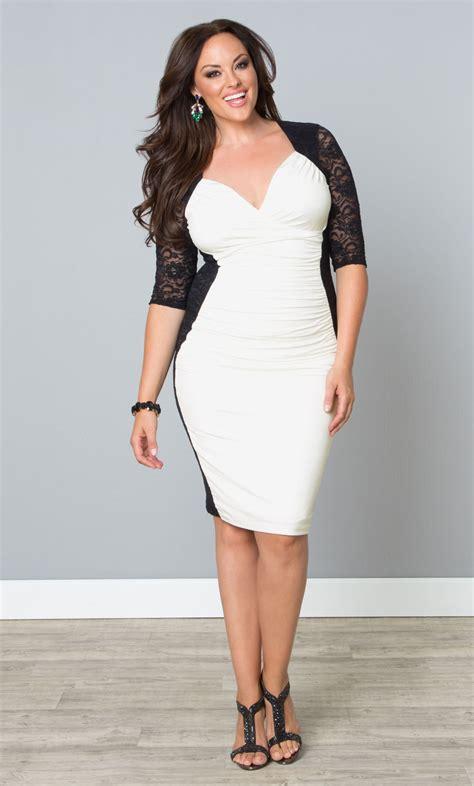 Dress Valentina plus size dresses kiyonna plus size cocktail dresses