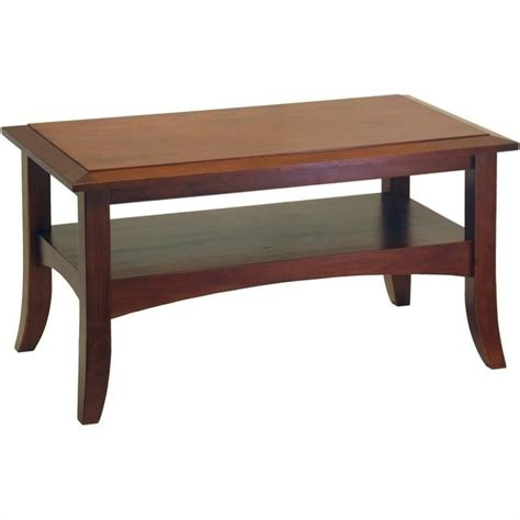 Rectangle Wood Coffee Table by Rectangle Wood Coffee Table In Walnut 94234