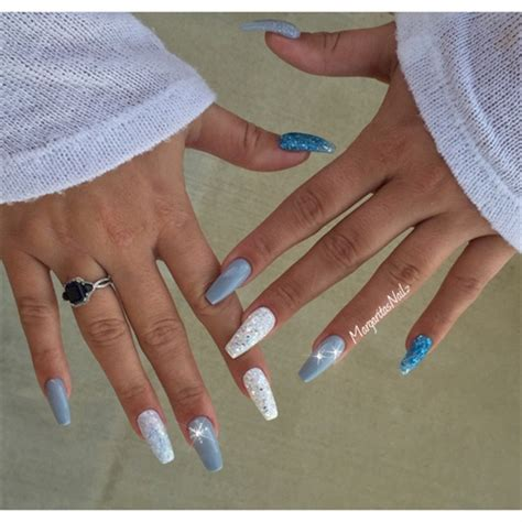 winter coffin nails nail art gallery