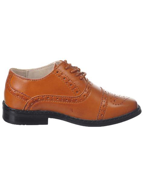 joseph allen boys quot worsted flourish quot dress shoes toddler sizes 5 12