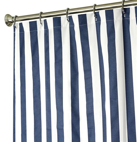 nautical stripe curtains nautical shower curtains for bathroom decor