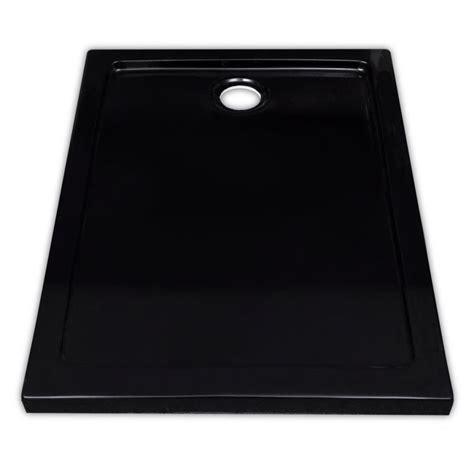 piatto doccia 70 x 90 piatto doccia rettangolare in abs nero 70 x 90 cm vidaxl it
